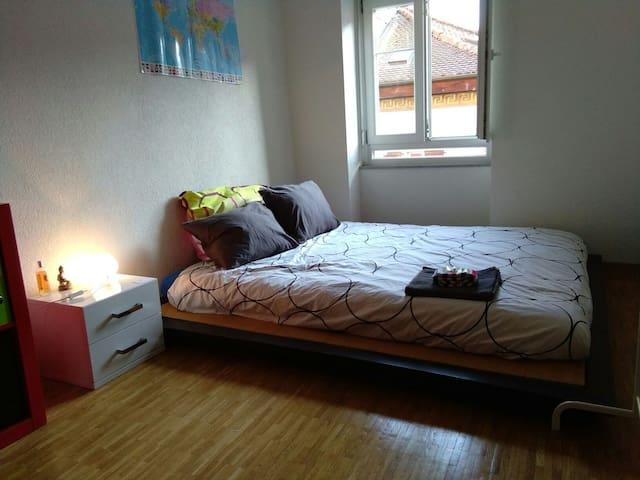 Belle chambre confortable - Yverdon-les-Bains - Lägenhet