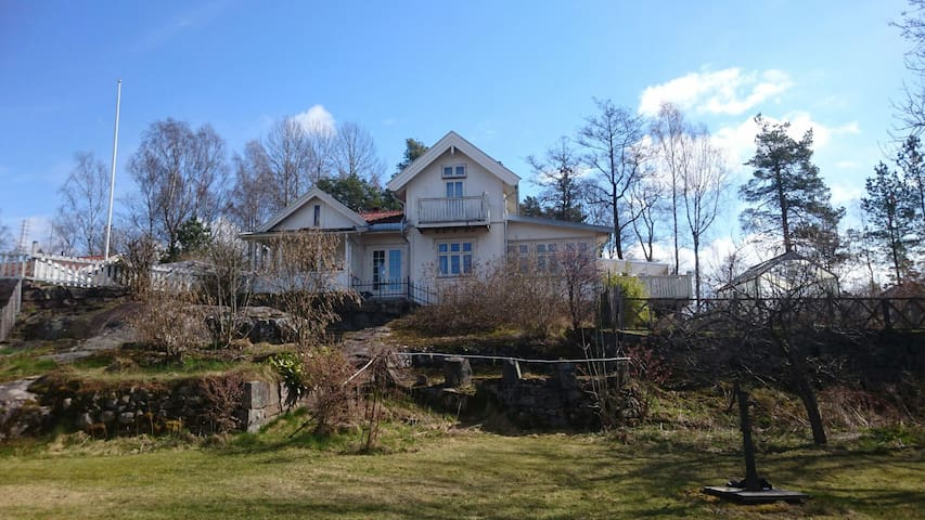 Spring by the Oslofjord - Fjellstrand - Huis