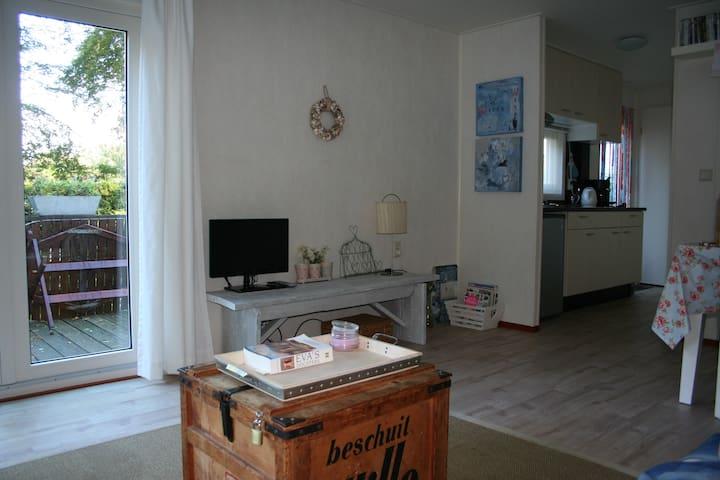 Luxe chalet in Gaasterlandse bossen - Oudemirdum - Blockhütte