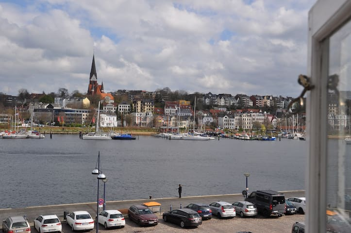 Hafenblick vom Kapitänshaus, 1. OG - Flensburgo - Departamento