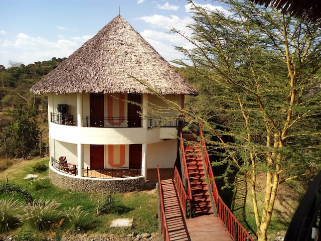 Your Room in a Boutique and Rustic Eco-lodge - Gilgil - Naturstuga