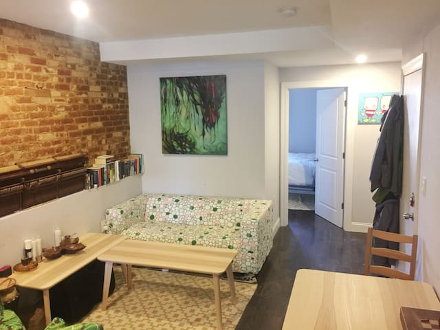 Brownstone comfort - Brooklyn - Wohnung