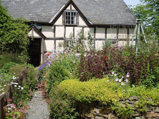 16th Century Farmhouse in Mid-Wales - Crossgates - Daire