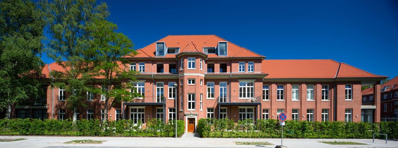Designer Loft, 100 qm, Nähe Zentrum mit Garten - Hambourg - Loft