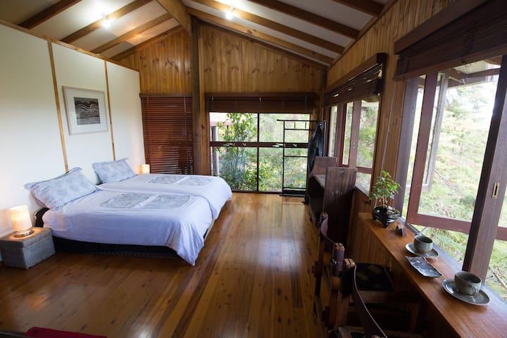 Japanese Garden Suite with Valley Views - Mudgeeraba