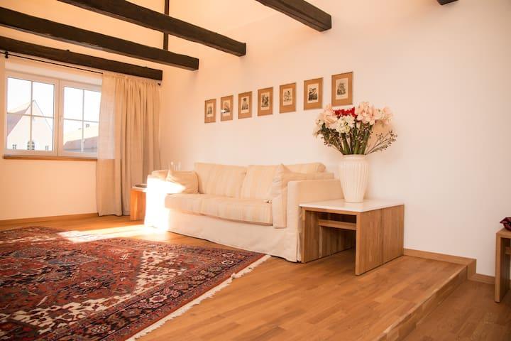 Stilvolle Altbaudachwohnung in bester Lage - Weiden in der Oberpfalz - Lägenhet