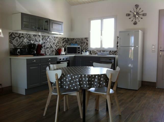 BOINOT LODGE : Maison neuve meublé de tourisme 4 * - Le Château-d'Oléron - Talo