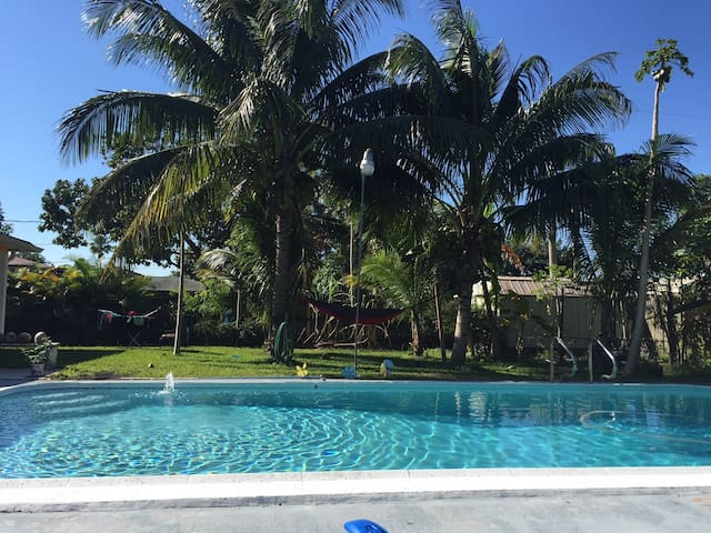 Tropical Paradise will allow you to relax near FLL - Fort Lauderdale - Rumah