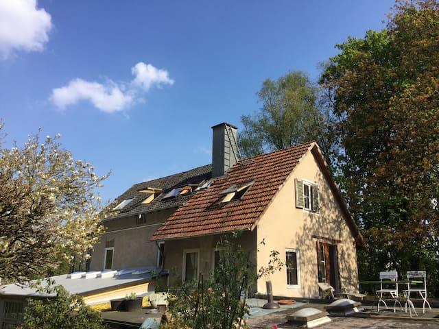 Gemütliches Dachzimmer - Marburg - Rumah