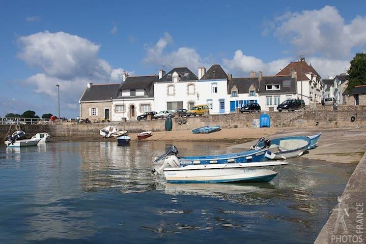 Petite maison de pêcheur sur la Ria d'Etel - Plouhinec