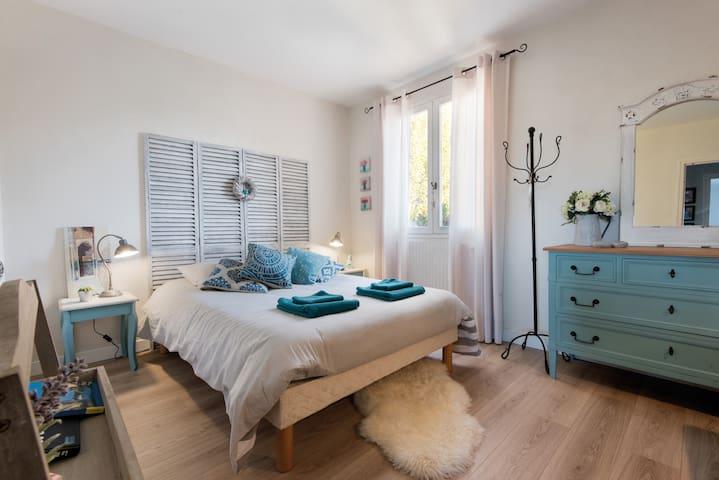 Chambre agréable avec salle de bain - La Rochelle - Rumah