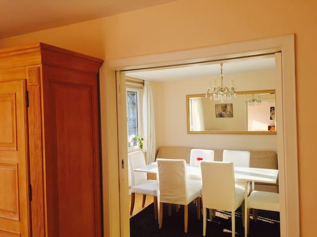 Central, luxurious and calm 106 sq apartment - Freiburg - Lägenhet