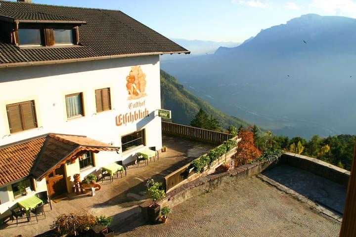 Herrlicher Blick übers Etschtal mit ruhiger Lage - Salonetto - 家庭式旅館