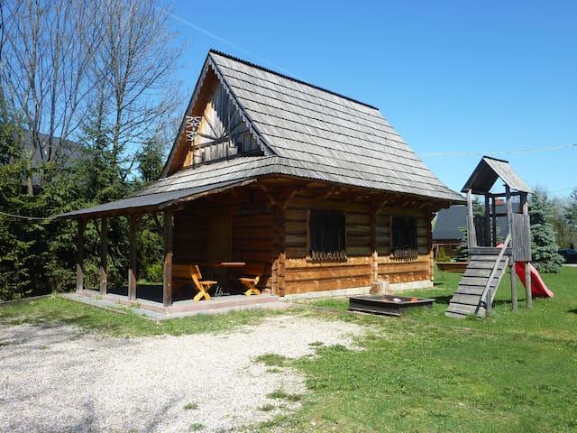 Drewniany domek góralski[1] - Czarny Dunajec - Casa