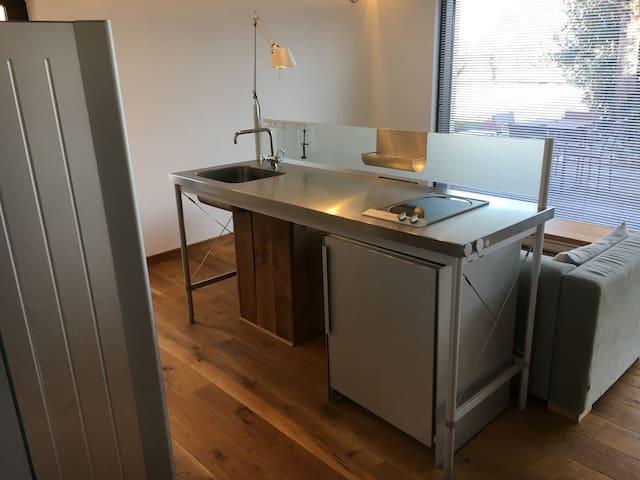 Modern flat in historic house - Puligny-Montrachet - Lägenhet