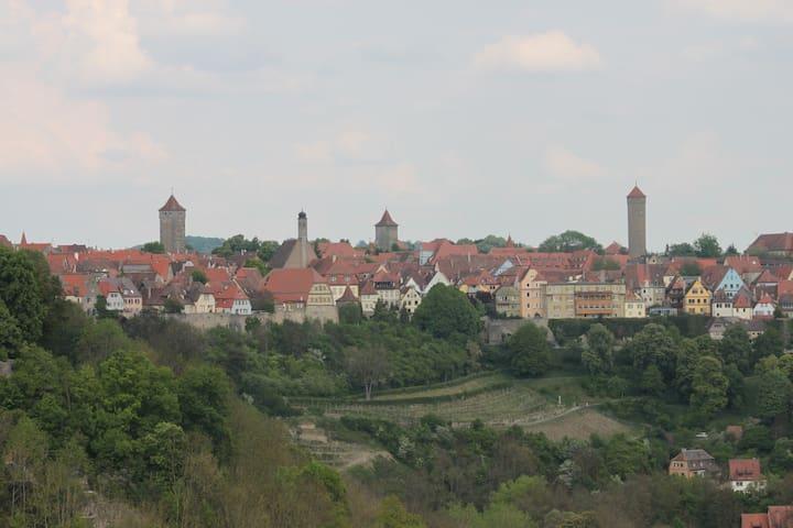 Ferienwohnung in Rothenburg o.d.T. - Rothenburg ob der Tauber - Apartemen