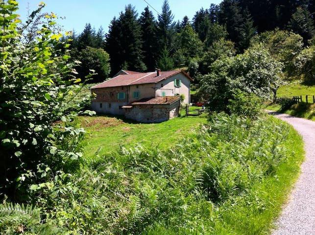 Huis in Midden-Frankrijk te huur (Chauffailles) - Chauffailles - Ev