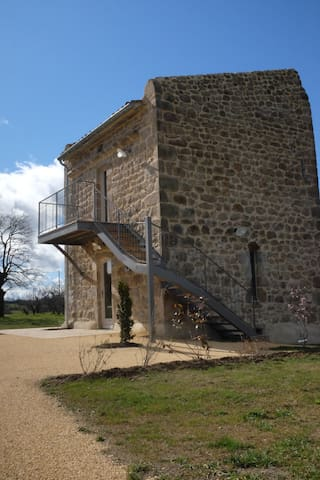 Ancien pigeonnier restauré - Ardoix - Huis