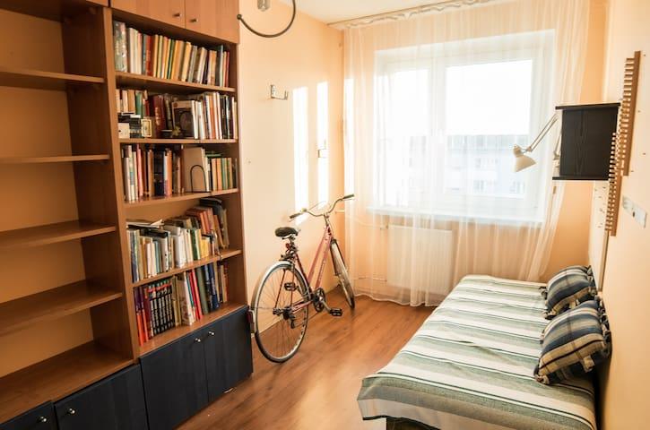 Cosy apartment in the suburbs - Łódź - Departamento