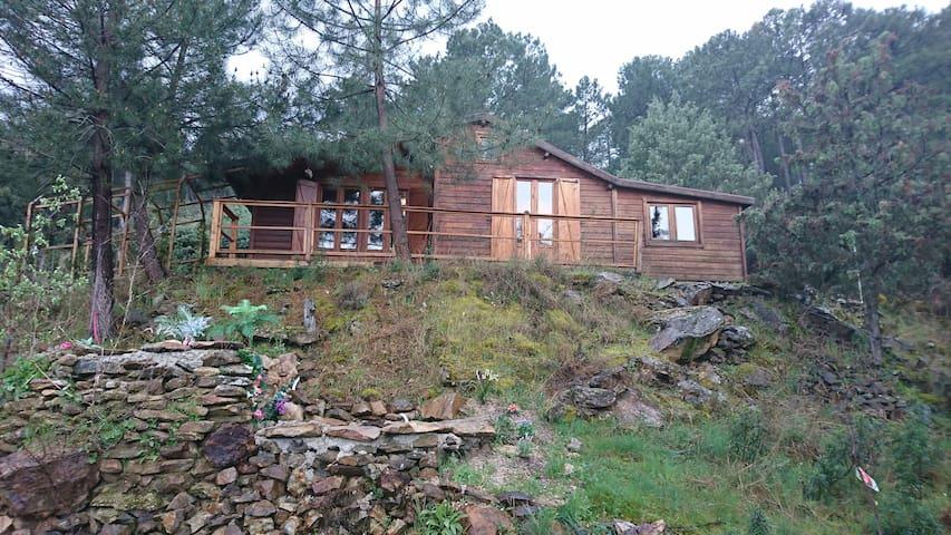 Maravillosa cabaña de madera - La Atalaya - Cabaña en la naturaleza