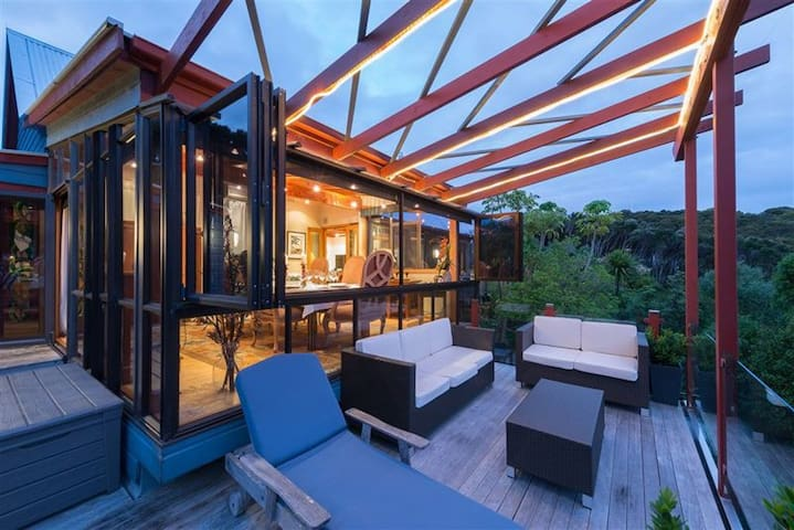 Kiwi Suite - Titore Lodge - Russell - Dom