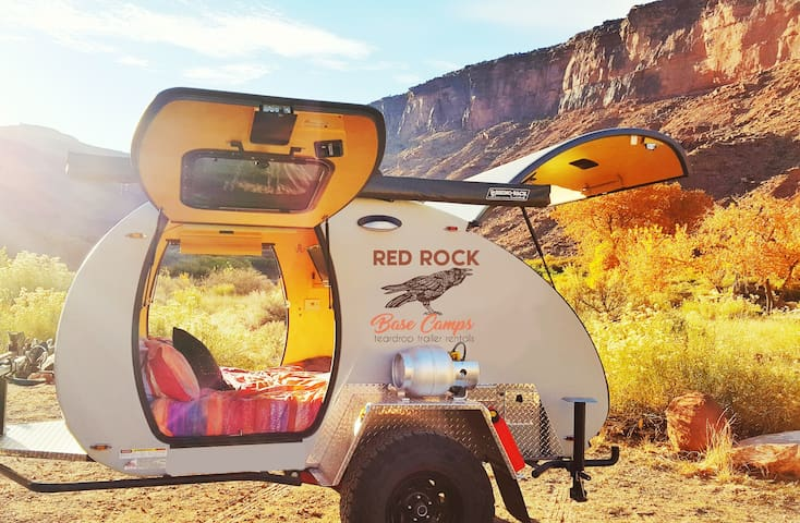 Red Rock Teardrop Trailer #1 - Moab - Wóz Kempingowy/RV