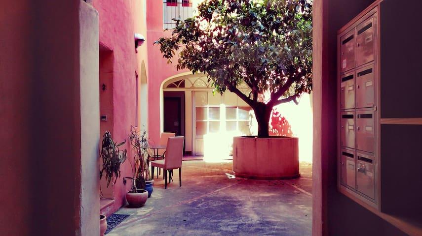 Studio/Pation Perpignan coeur de ville - Perpignan - Lägenhet