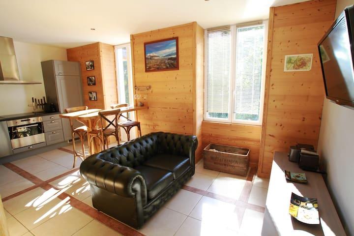 Confortable gite pour couple - Saint-Pierre-d'Albigny - Ortak mülk
