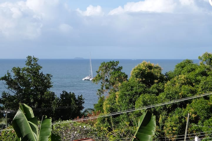 Great Sea View Family Apartment with Balcony - Machabee - Apartament