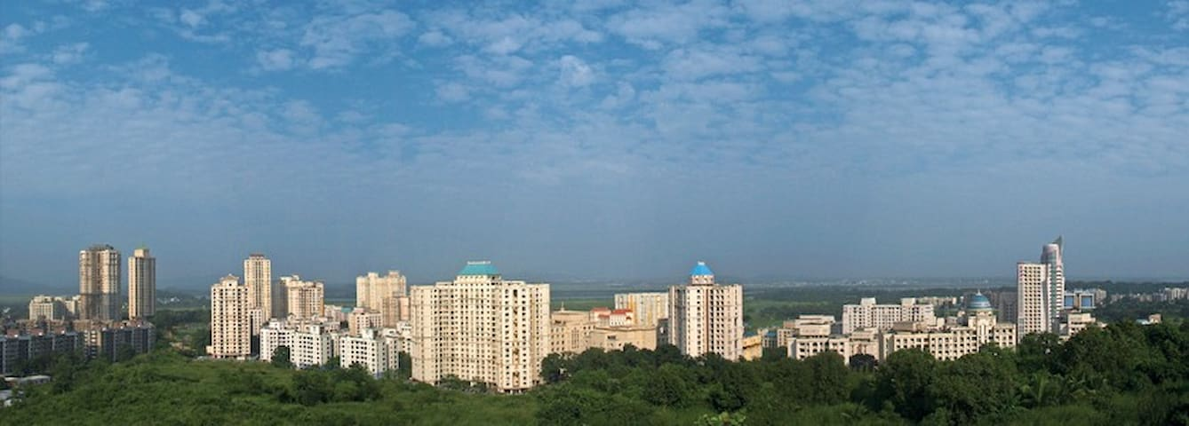 A wifi enabled serviced apartment - Thane - Appartement