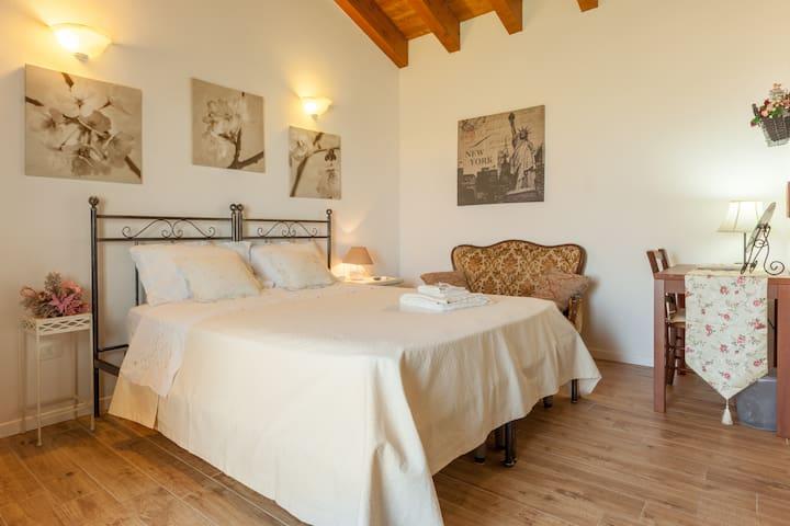 camera romantica con cucinino - Vicenza - Bed & Breakfast