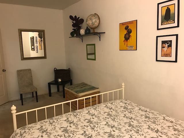 Cozy Room in Garden Level Apartment - San Francisco