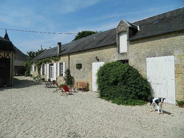 Marigny cottage & l'histoire Normande. - Longues-sur-Mer - Hus