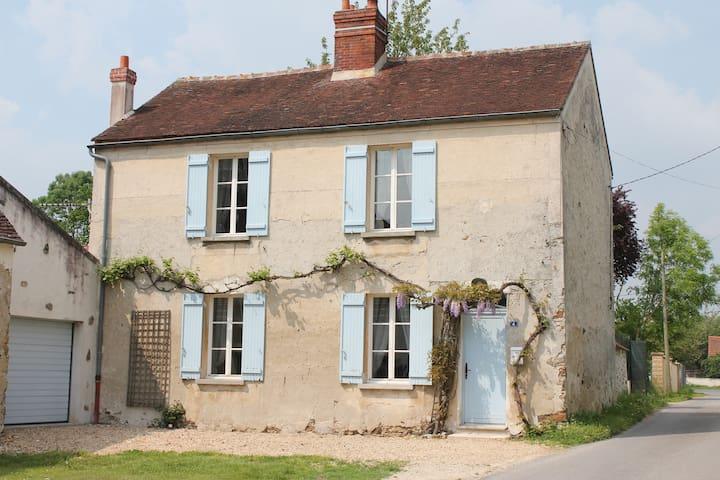 Ruhiges Haus zwischen Paris-Disney-Reims-Provins - Saint-Germain-sous-Doue