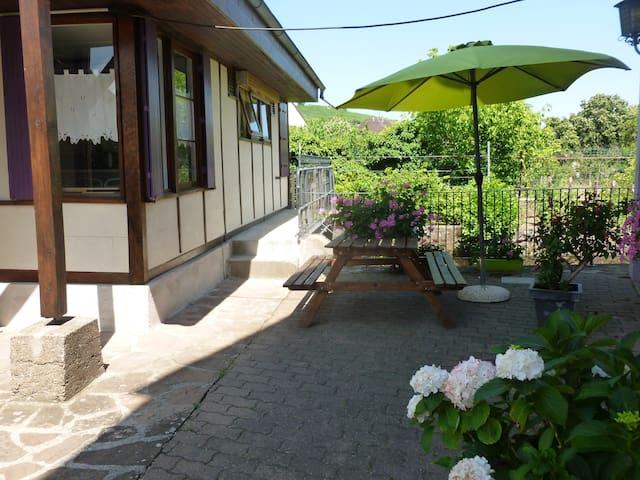 maison de plain pied avec jardin - Kientzheim - Chalet