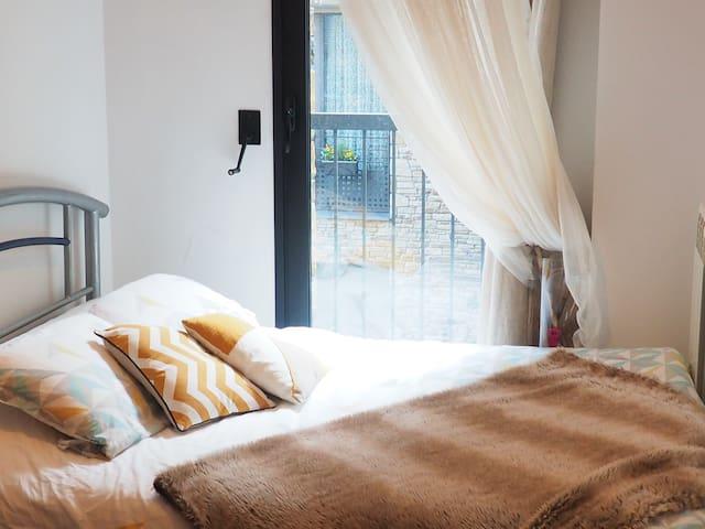 Bed & Breakfast 10mn station/town - La Cortinada - 公寓
