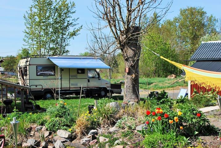 Caravan hostel, mobile home - Norrtälje N - Autocaravana