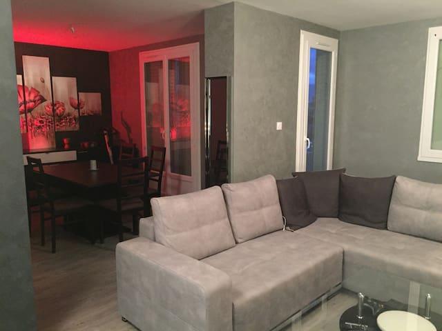 Chambre individuelle dans un jolie appartement - Romans-sur-Isère - Wohnung