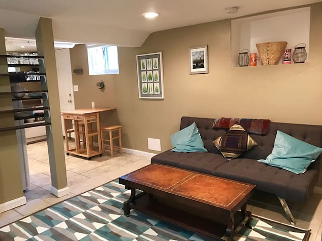 Comfortable, Affordable Studio Steps from DC - Mount Rainier