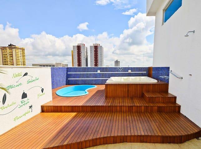 Central suite for 2 people at Foz do Iguazu! - Foz do Iguaçu - Apartament