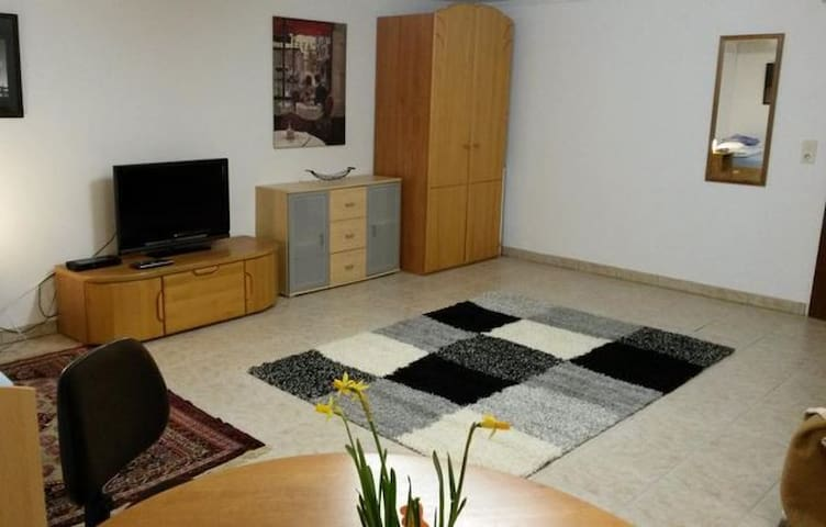 Zimmer mit TV - 10 Fahrminuten vom Westpark - Ingolstadt - Wohnung
